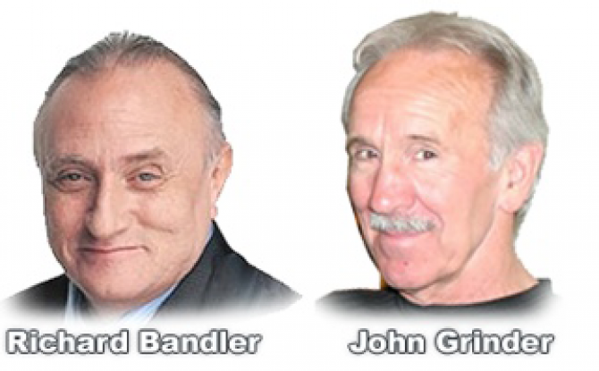 Bandler and Grinder creators of NLP