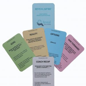 GROW coaching model cards intermediate, coaching cards, coaching products, coasching questions