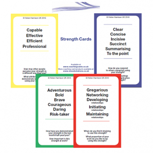 strengths coaching cards, coaching products,