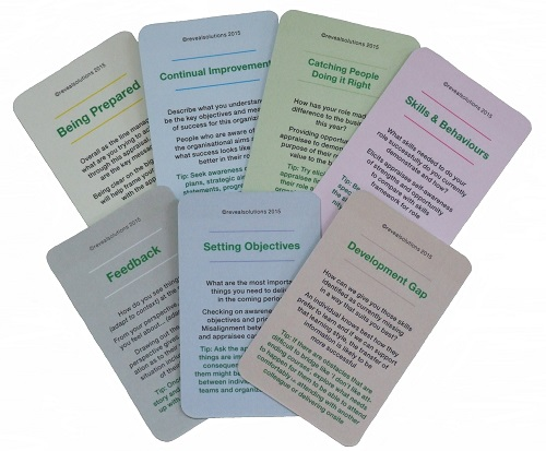 Appraisal coaching cards