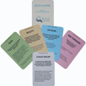 GROW coaching model cards advanced, coaching cards, coaching questions