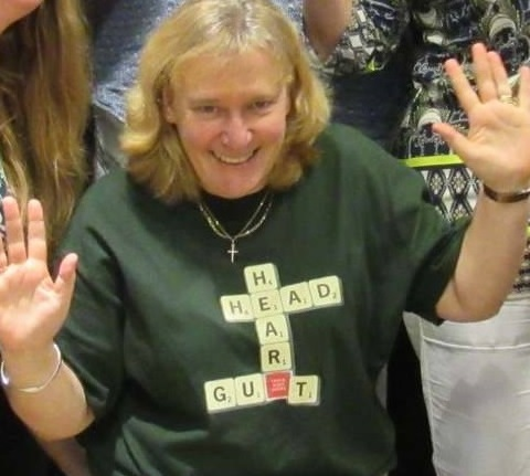 Scrabble T-shirt Dr Suzanne Henwood